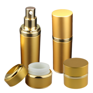 golden aluminium packaging