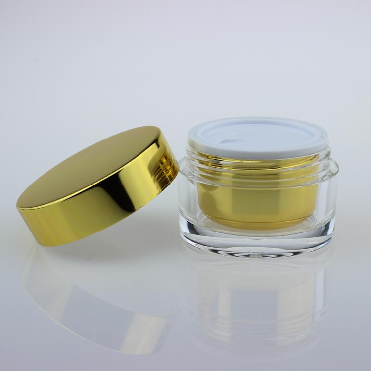 Plastic Cream Jar With Lid Cospack
