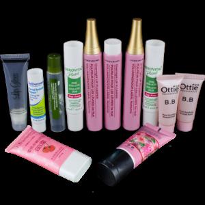 plastic cosmetic tube