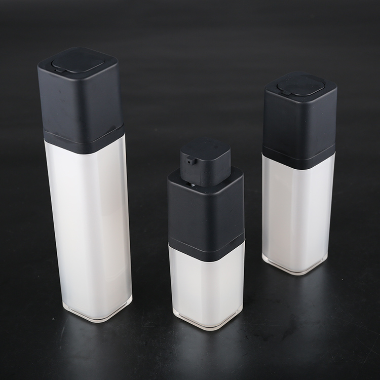 Square Pp Airless Bottle Cospack