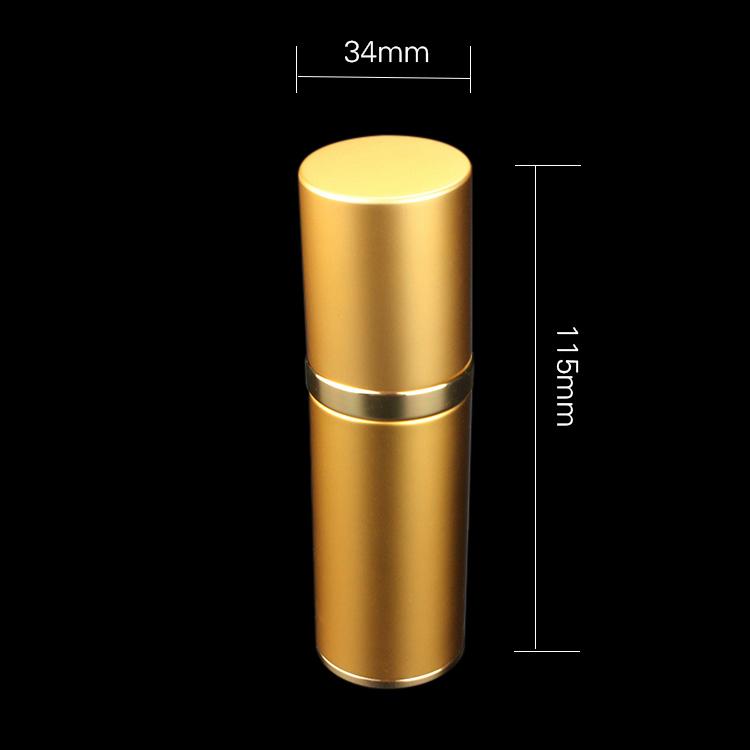 Zal24 15ml 30ml 50ml Aluminum Airless Bottle Cospack