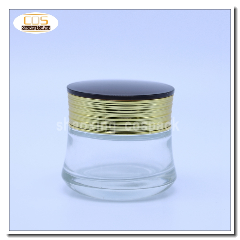 50g clear glass cosmetic jar wholesale