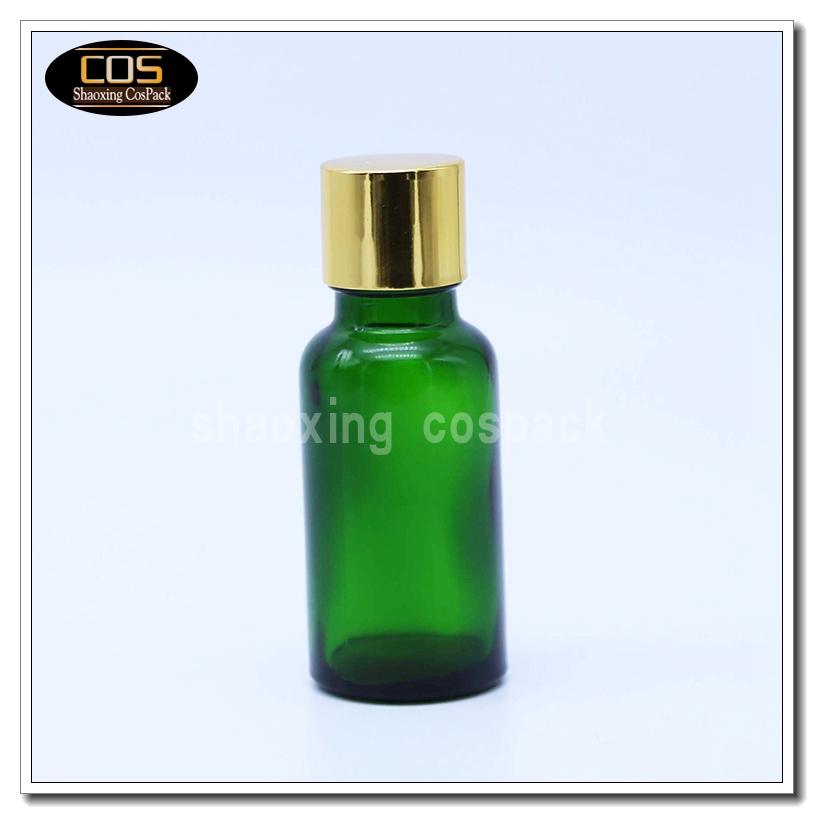 Ebx20b Series Green Glass Essential Oil Bottles 5ml 10ml